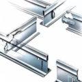 Элементы каркасной подвесной системы