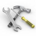Гаечные ключи и отвертки